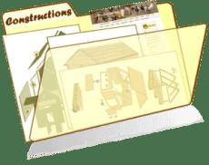 les fiches de la basses-cour bio - les constructions