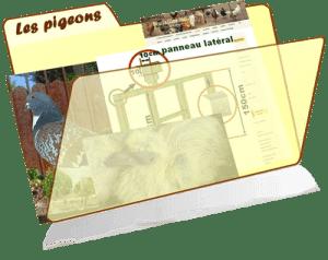 les fiches de la basses-cour bio - pigeons