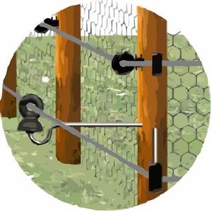isolalateur pour clôture