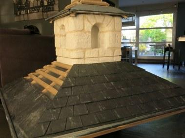 construction toit poulailler en ardoises