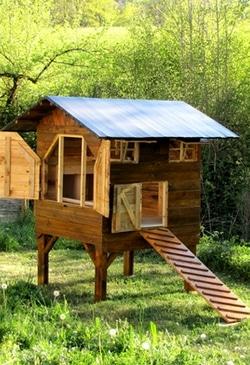 poulailler en tunnel plan poulailler bio. Black Bedroom Furniture Sets. Home Design Ideas
