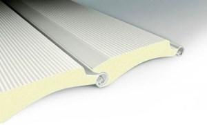 Ρολά ασφαλείας από αλουμίνιο με μόνωση πολυουρεθάνης