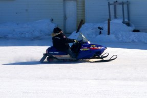 Snowmobiles come in all shapes and sizes - as do their owners !