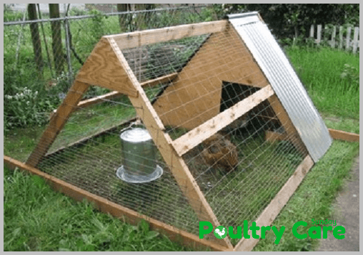 Ark and Runs A frame Chicken Coop