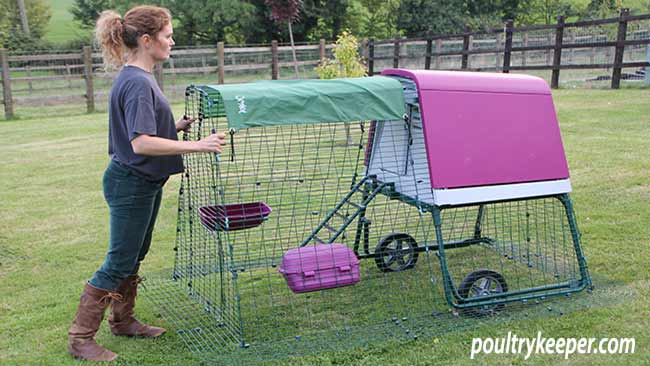 Eglu Go Up Chicken Coop