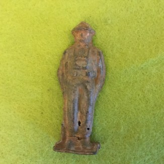 54mm-ish WW2 or post war lead hollow cast, discovered in Bristol by Dave Hough, now in my collection.