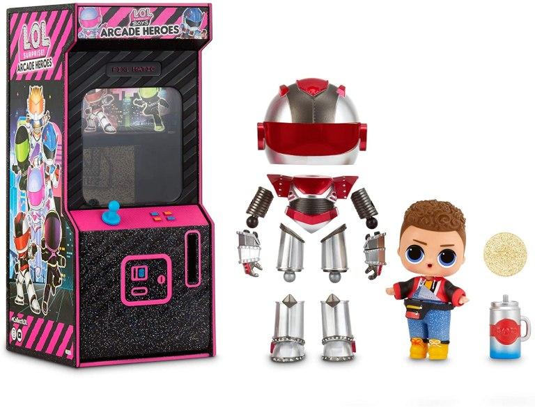 Poupee LOL Boys Arcade Heroes