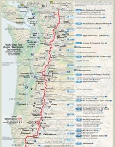Seiad Valley to Manning park Canada (Oregon-Washington)