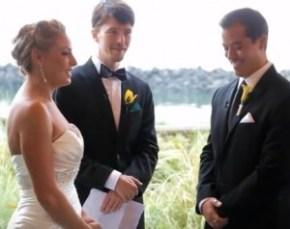 Exemple de cérémonie de mariage
