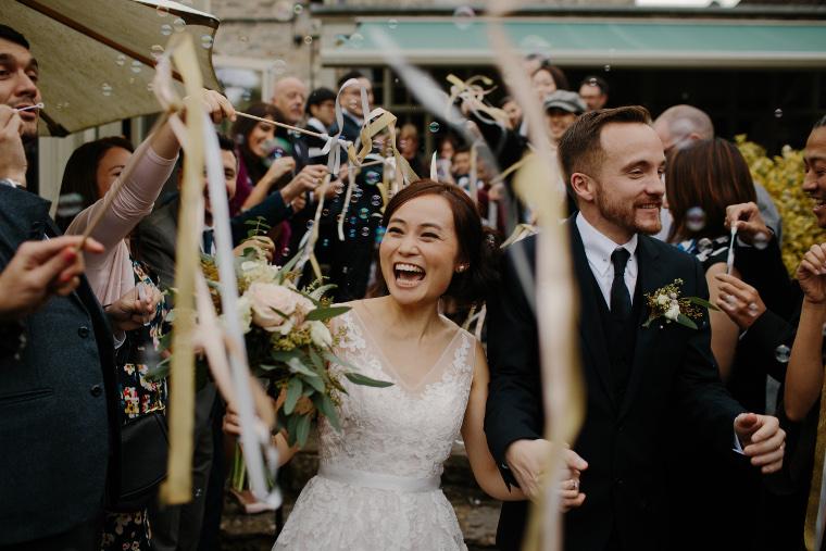 que jeter sur les mariés ?