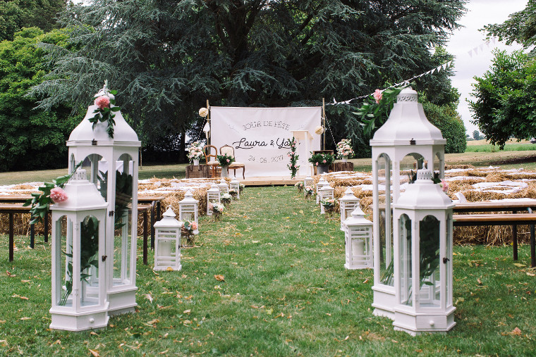 cérémonie champêtre