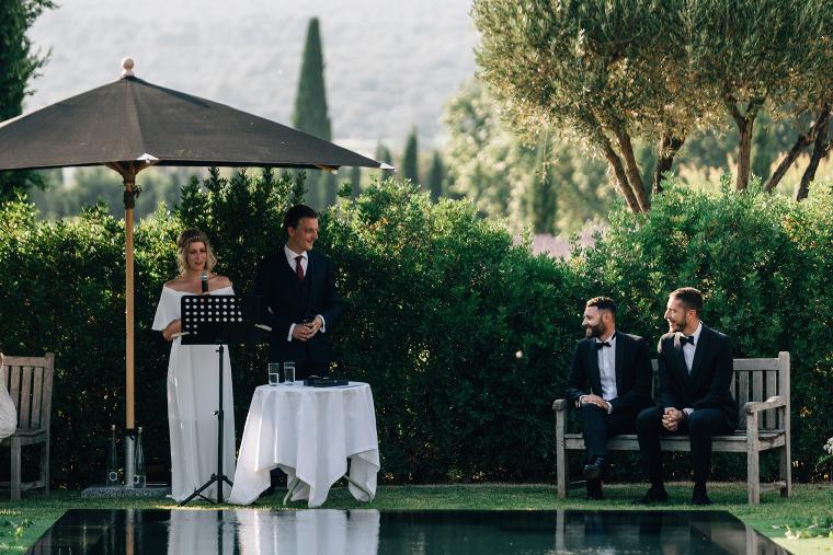 mariage aux Andéols