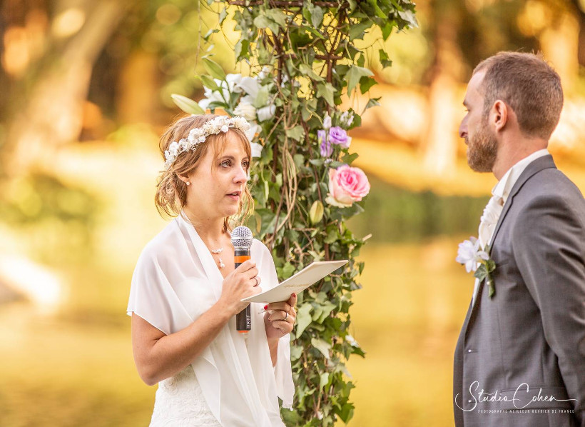 cérémonie mariage château ermenonville