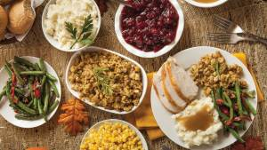Holiday Meal Catering Buffet