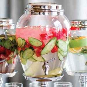 Cucumber-Melon Spa Water