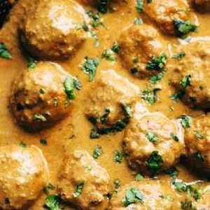 Thai Peanut Meatballs