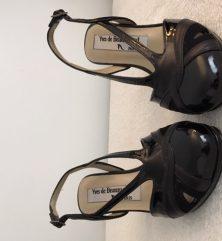 escarpins noirs (cuir verni)