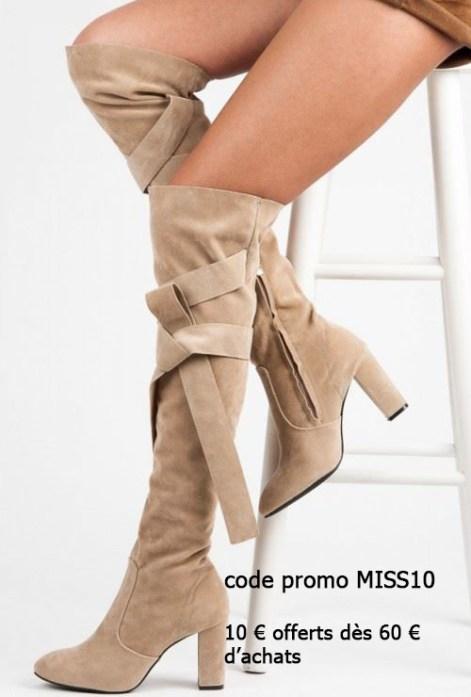 Codes promo pour chaussures femmes