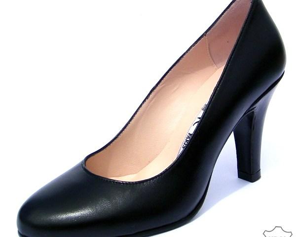 escarpins noirs en petite pointure pour femme