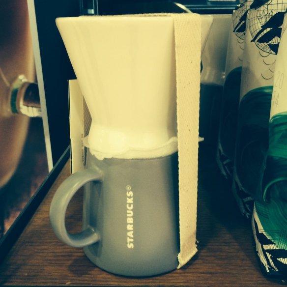 Starbucks® Classic Pour-Over Brewer & Mug Set