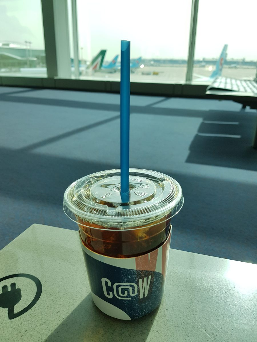 Coffee@works Incheon Airport - ready for departure