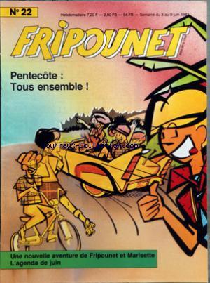 Fripounet 1987, N°22 Pentecôte : tous ensemble !