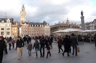 La Grand place de Lille (France)