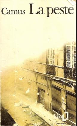 couverture de La Peste de Camus édition Folio