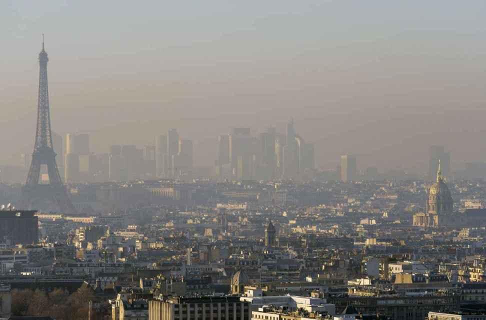 Paris face à un pic de pollution particulièrement intense