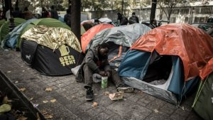 Nouvelle évacuation de migrants à Paris