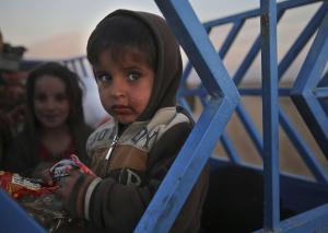 Irak : le calvaire des enfants pris au piège dans la bataille de Mossoul