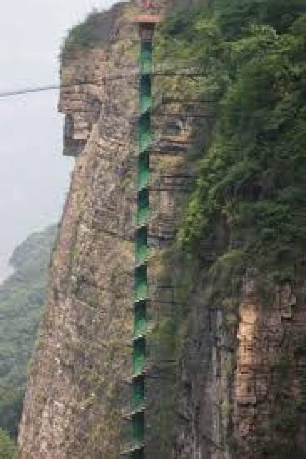 Staircase to Heaven, China