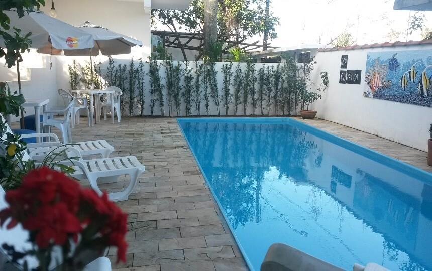 Jardim Pousada Oca Poranga Enseada Guaruja