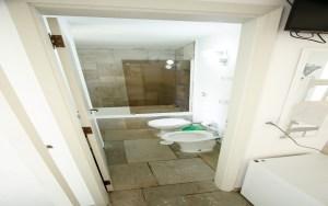 Banheiro Suite Quadruplo Pousada Pe na Areia Praia de Pernambuco