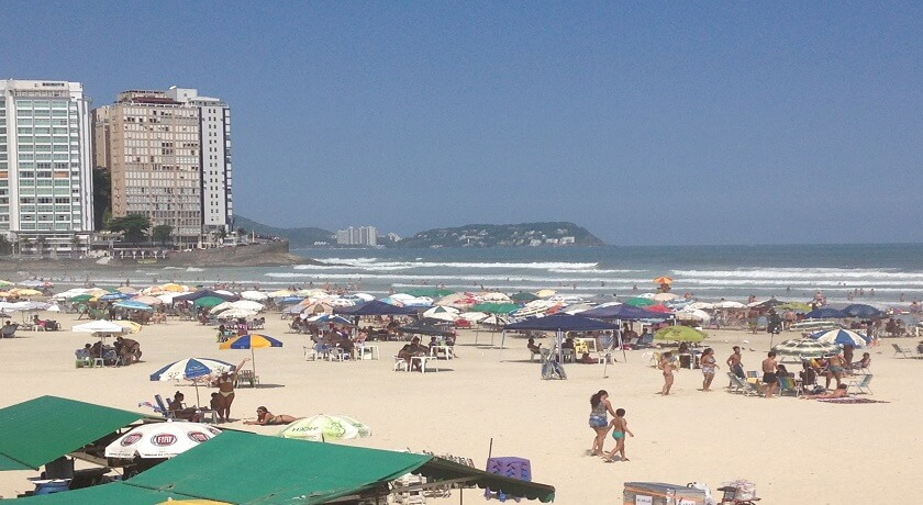 Praia de Pitangueiras Guaruja