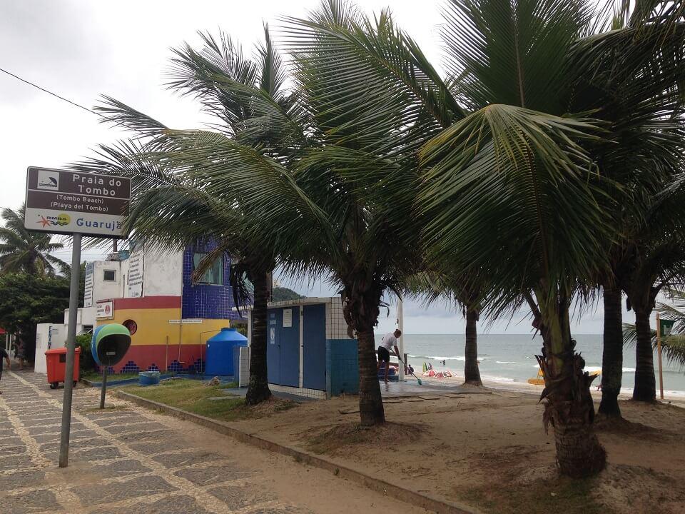 Praia do Tombo - Praias do Guaruja
