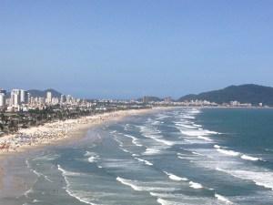 Praia da Enseada Guaruja SP Vista Morro do Maluf