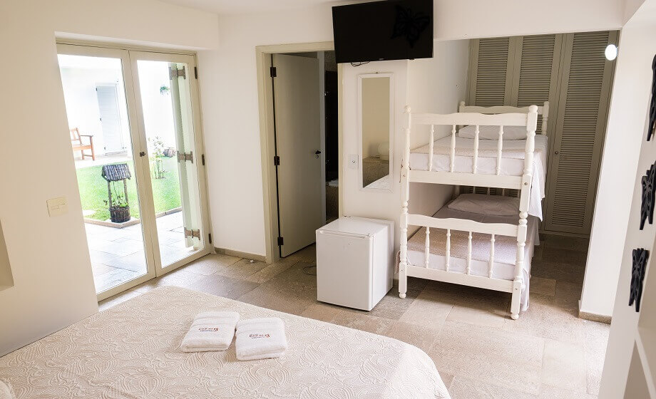 Suite Master Casal King Size e Beliches