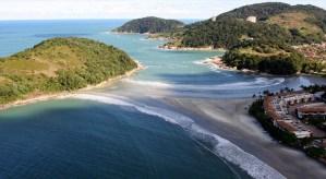 Praia de Pernambuco Guarujá SP