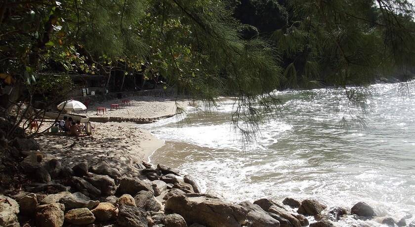 vista Praia do Eden Guaruja SP