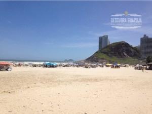 Praia da Enseada em Guaruja - Vista Morro Maluf