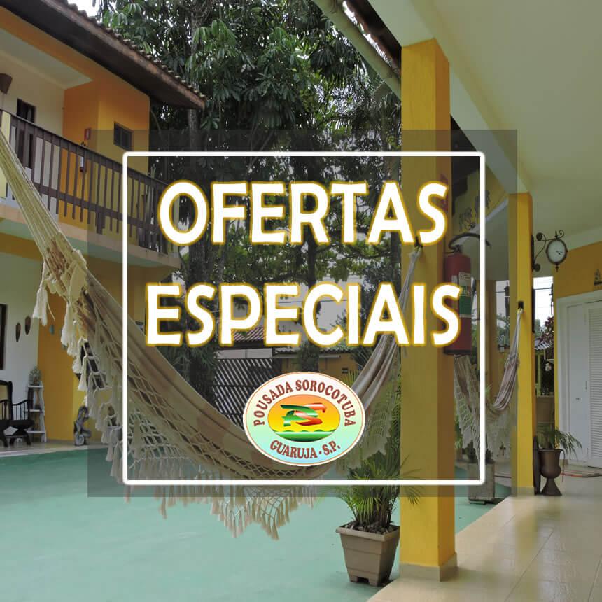 Promo Pacote Ferias - Pousada Sorocotuba Guarujá