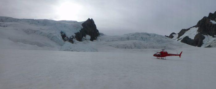 Sommet du Glacier Tasman