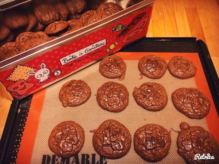 Les brownie-cookies