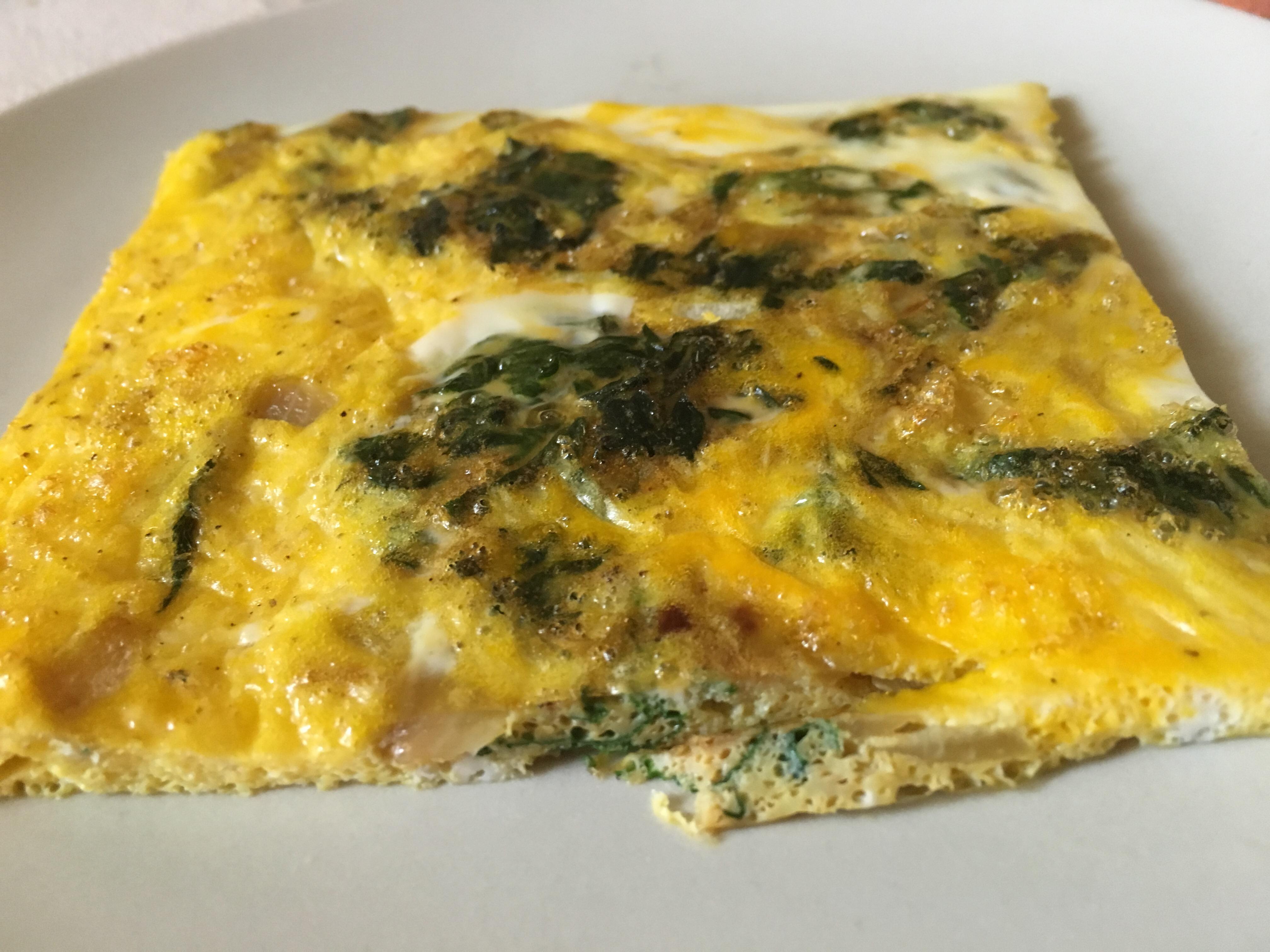 Omelette d'orties