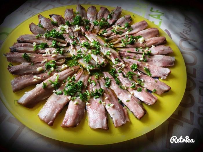 Anchois/Sardines au vinaigre