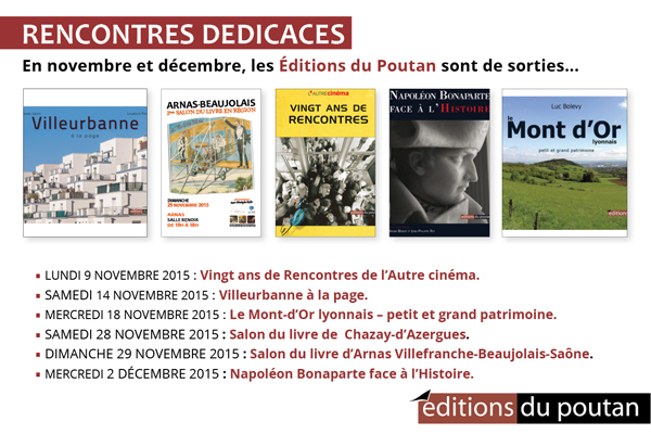 dedicaces nov dec 2015