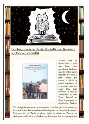 les lectures du hibou 160214