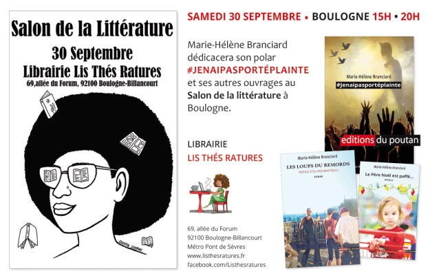 salon litterature boulogne septembre 2017