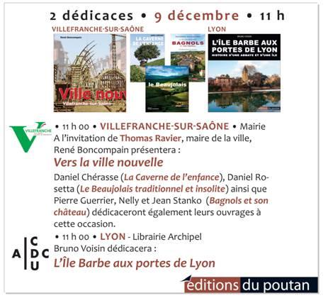 editions du poutan conference dedicaces du 9 decembre 2017